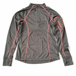 Mondetta Athletic Pullover Long Sleeve Gray